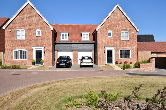 Thumbnail Semi-detached house for sale in Daisy Drive, Leiston