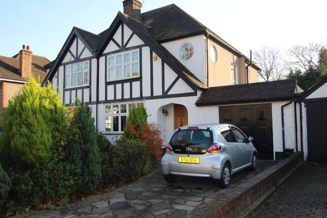 3 bed semi-detached house for sale in Petts Wood Road, Petts Wood, Kent