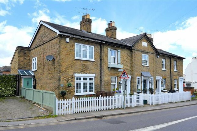 Thumbnail End terrace house for sale in Market Place, Abridge, Romford