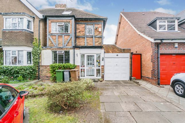 Thumbnail Semi-detached house for sale in Bills Lane, Shirley, Solihull