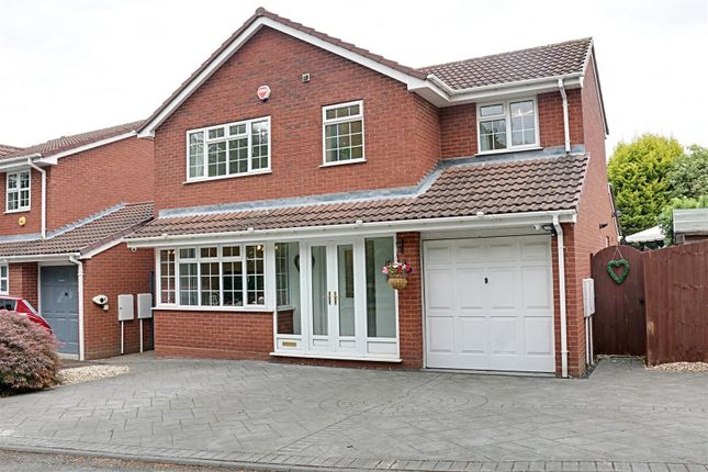 Thumbnail Detached house for sale in Muxloe Close, Turnberry, Bloxwich, Walsall
