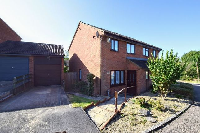 Thumbnail 3 bed semi-detached house for sale in Lundholme, Heelands, Milton Keynes