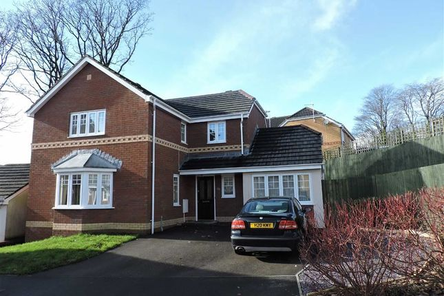 Thumbnail Detached house for sale in Parc Gilbertson, Gelligron, Pontardawe