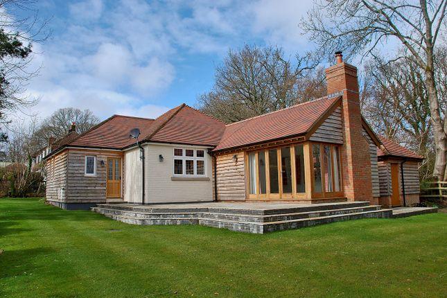 Thumbnail Detached bungalow for sale in Randalls Lane, Burley, Ringwood