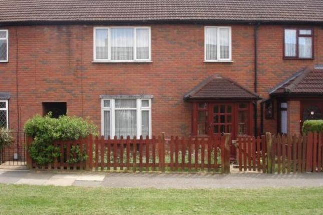 Thumbnail Terraced house to rent in Hind Close, Chigwell
