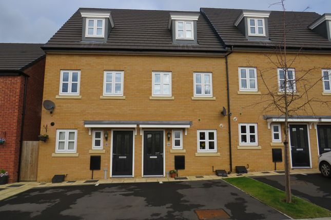 Thumbnail Town house for sale in Blackcurrant Grove, Higham Ferrers, Rushden