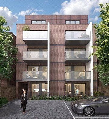 Thumbnail Flat for sale in King's Lodge, King's Avenue, Clapham