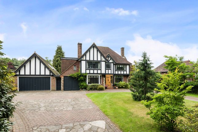 Thumbnail Detached house for sale in Ruden Way, Epsom Downs