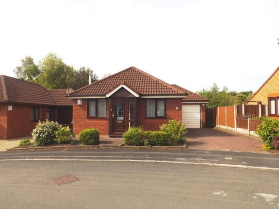 Thumbnail Bungalow for sale in Weddell Close, Old Hall, Warrington, Cheshire