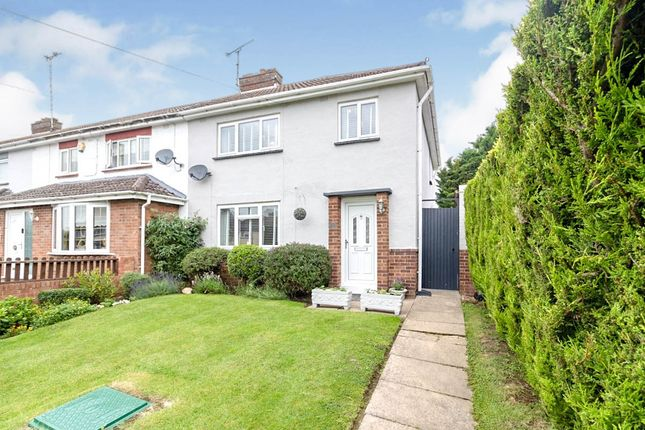 Thumbnail End terrace house for sale in St. Catherines Avenue, Bletchley, Milton Keynes