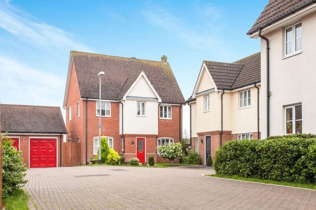 Thumbnail Detached house to rent in Orchid Fare, Highfields Caldecote, Cambridge