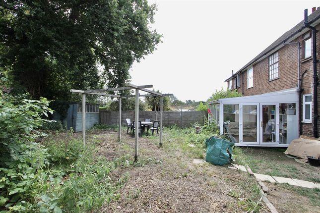 Outside of Broadwater Gardens, Shotley Gate, Ipswich IP9