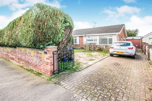 Thumbnail Detached bungalow for sale in Broad Road, Lowestoft