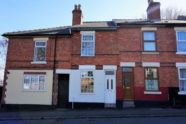 2 bed terraced house for sale in Stockbrook Street, Derby