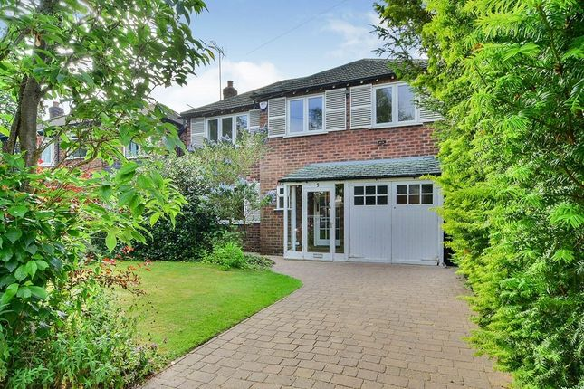 Thumbnail Detached house for sale in Regent Bank, Wilmslow
