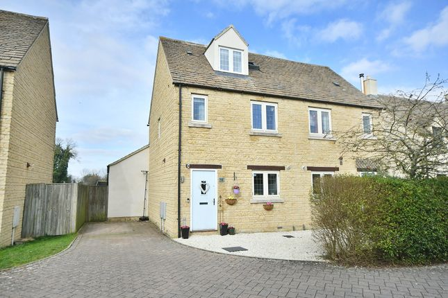 Thumbnail Semi-detached house for sale in The Wern, Lechlade