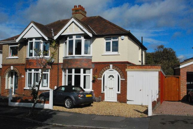 Thumbnail Semi-detached house for sale in Windermere Road, Longlevens, Gloucester