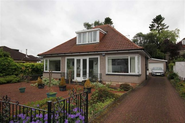 Thumbnail Detached bungalow for sale in South Mains Road, Milngavie, Glasgow