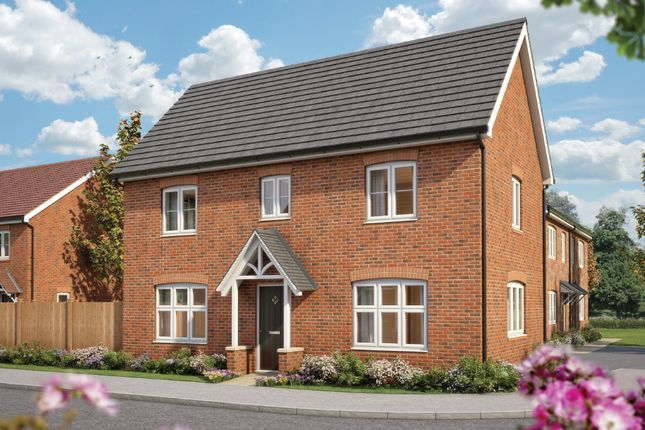 "Thumbnail Detached house for sale in ""The Spruce "" at Silverwoods Way, Kidderminster"