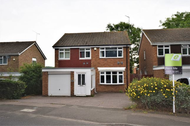 Thumbnail Detached house to rent in Pear Tree Lane, Gillingham, Kent