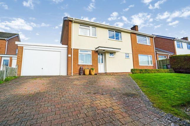 Thumbnail Detached house for sale in Liddle Close, Carlisle
