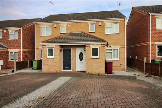 Front of Elmton View, Creswell, Worksop, Derbyshire S80