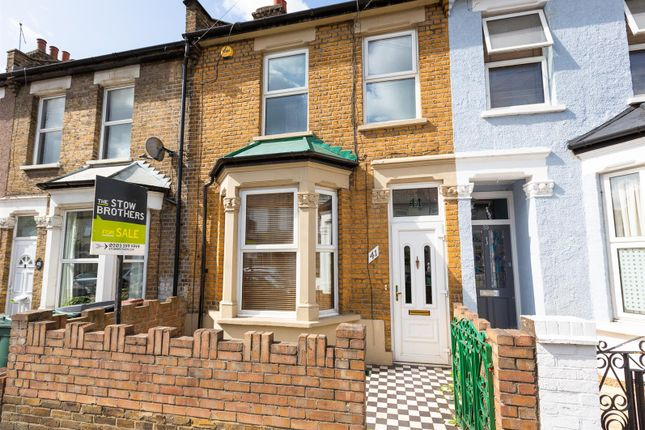 Thumbnail Terraced house for sale in Stirling Road, London