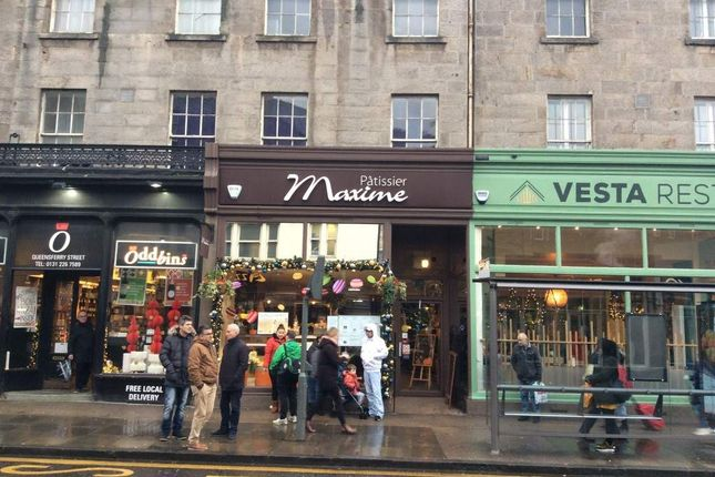 Thumbnail Restaurant/cafe for sale in Queensferry Street, New Town, Edinburgh