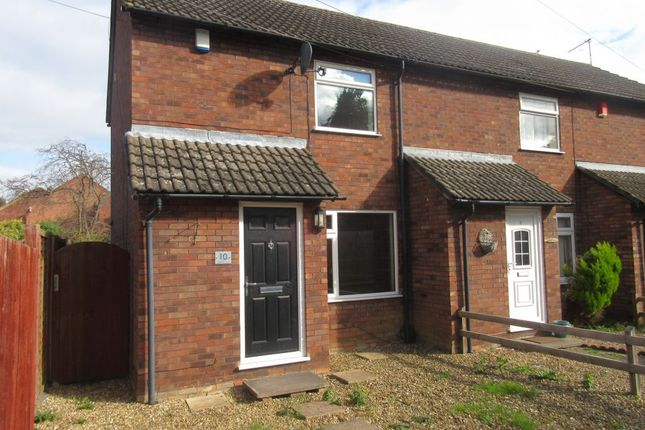 Thumbnail Town house to rent in Welham Walk, Off Barkbythorpe Road