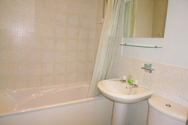 Shower Room of Flat 2/2, 3, The Terrace, Ardbeg, Rothesay, Isle Of Bute PA20
