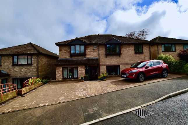 Thumbnail Detached house for sale in Heol Brofiscin, Groesfaen, Pontyclun