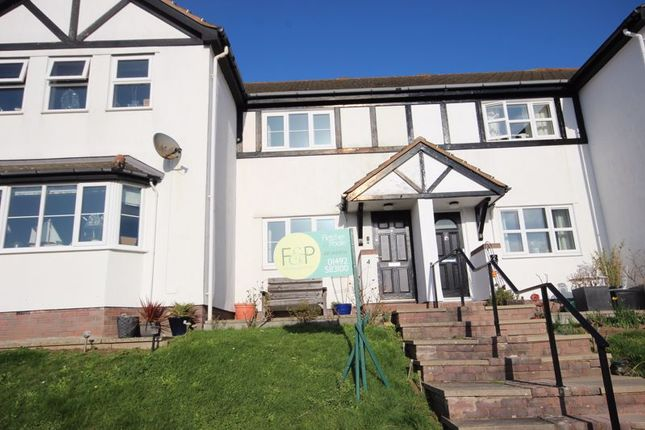 Thumbnail Terraced house for sale in Lon Vardre, Deganwy, Conwy