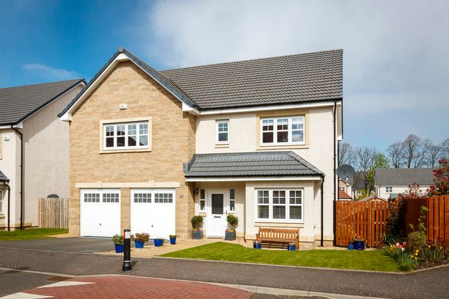 Thumbnail Detached house for sale in Rutherford Drive, Lenzie, Kirkintilloch, Glasgow