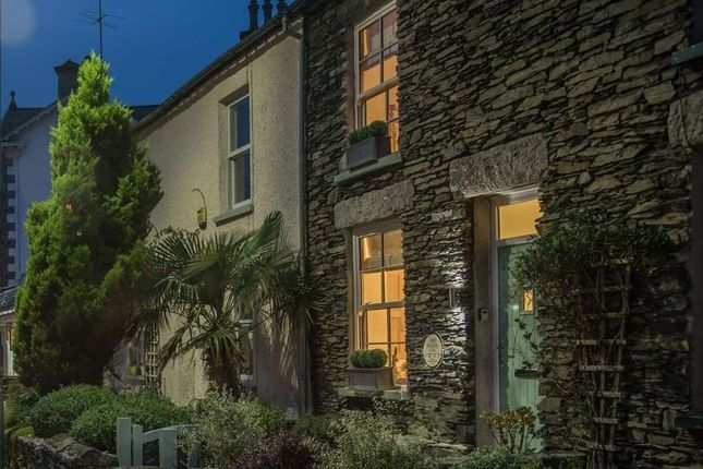Thumbnail Terraced house for sale in Tiggy Winkle Cottage, 48 Main Road, Windermere, Cumbria