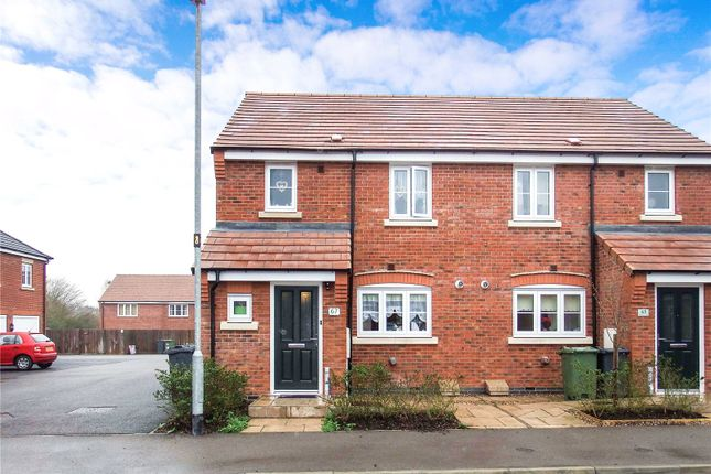 Thumbnail Semi-detached house for sale in Aitken Way, Loughborough, Leicestershire