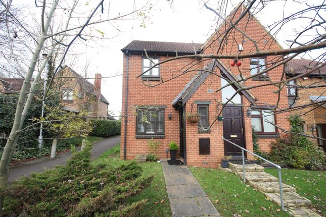 Thumbnail End terrace house to rent in Westcotts Green, Warfield, Bracknell