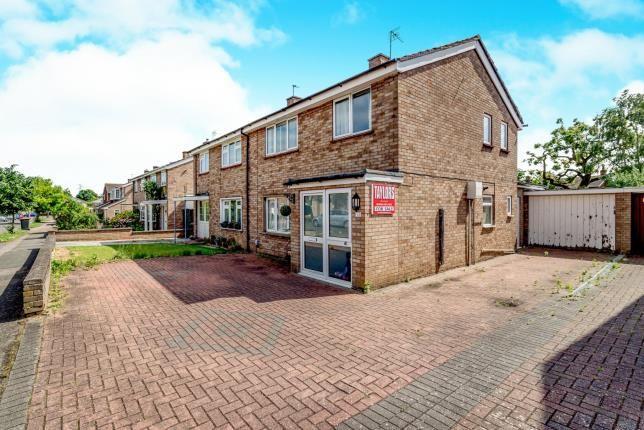 Thumbnail Semi-detached house for sale in Waveney Avenue, Bedford, Bedfordshire