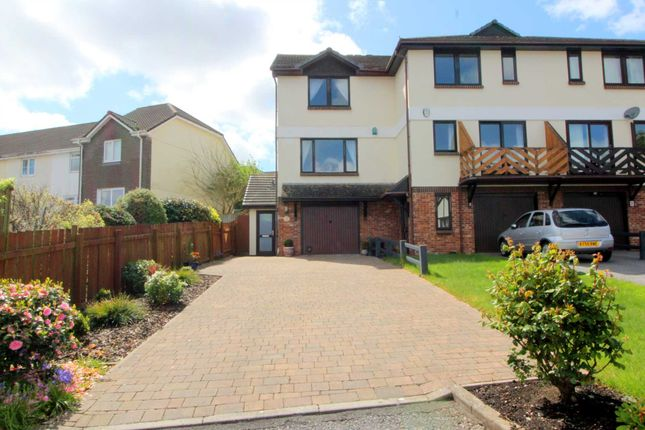 Thumbnail Semi-detached house for sale in Riverside Mews, Saltash