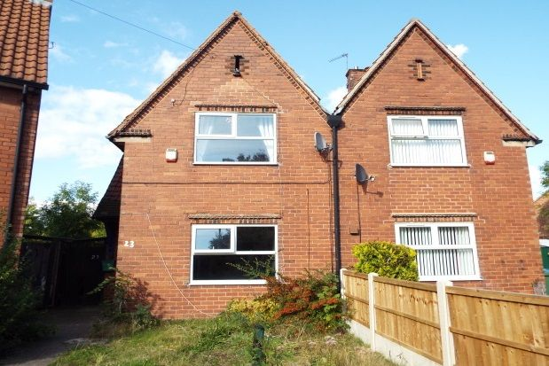 Thumbnail Property to rent in Ravensdale Road, Mansfield
