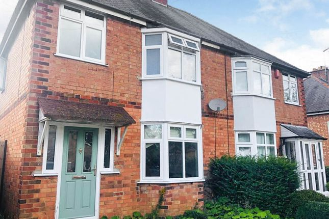 Thumbnail Semi-detached house for sale in Marsh Drive, Kibworth Harcourt, Leicester
