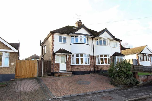 Thumbnail Semi-detached house for sale in Links Way, Croxley Green, Rickmansworth
