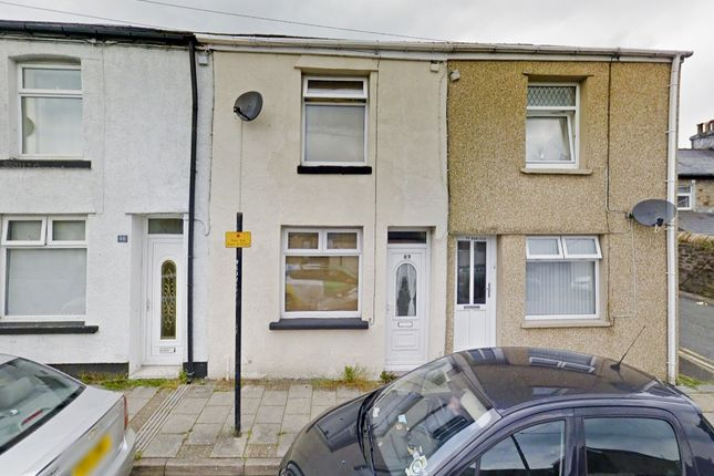 Thumbnail Terraced house to rent in Queen Victoria Street, Tredegar