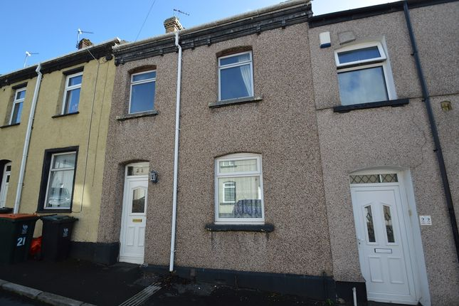 Thumbnail Terraced house for sale in Dos Road, Newport