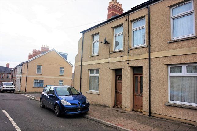Thumbnail End terrace house for sale in Salop Place, Penarth