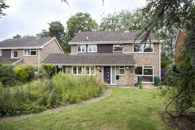 Thumbnail Detached house for sale in Denning Close, Fleet