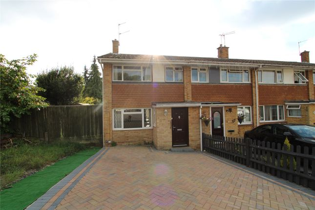 Thumbnail End terrace house for sale in Edelvale Road, Southampton, Hampshire