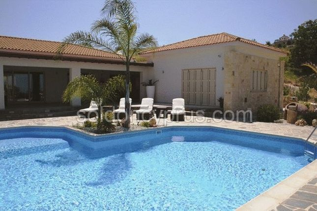 Thumbnail Detached bungalow for sale in Armou, Paphos, Cyprus