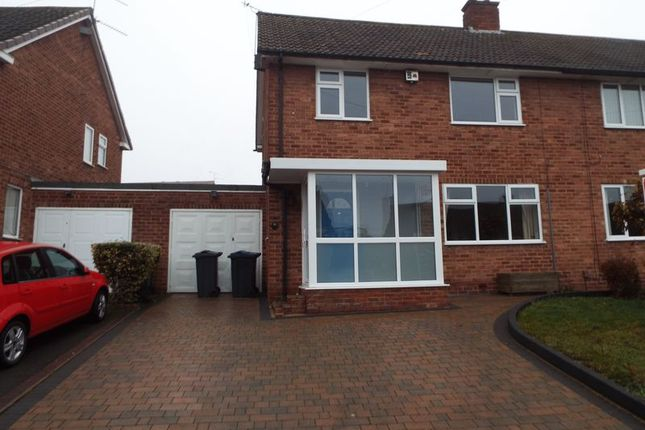 Thumbnail Semi-detached house to rent in St Denis Road, Selly Oak, Birmingham