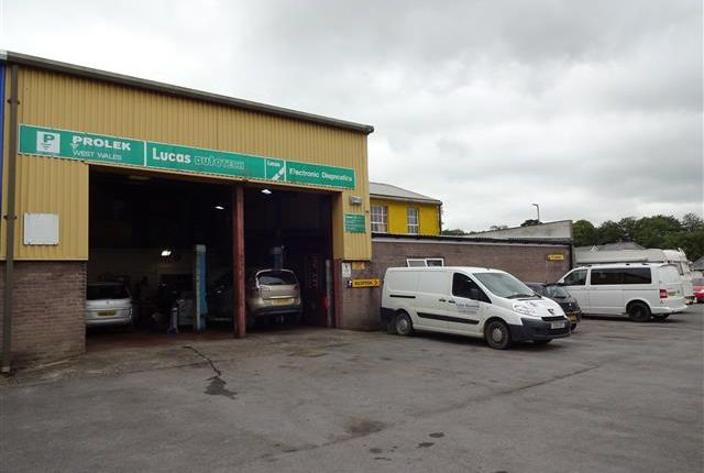 Thumbnail Commercial property for sale in Haverfordwest, Dyfed
