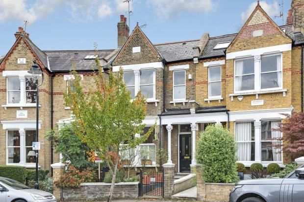 Thumbnail Terraced house for sale in Claremont Road, Highgate, London